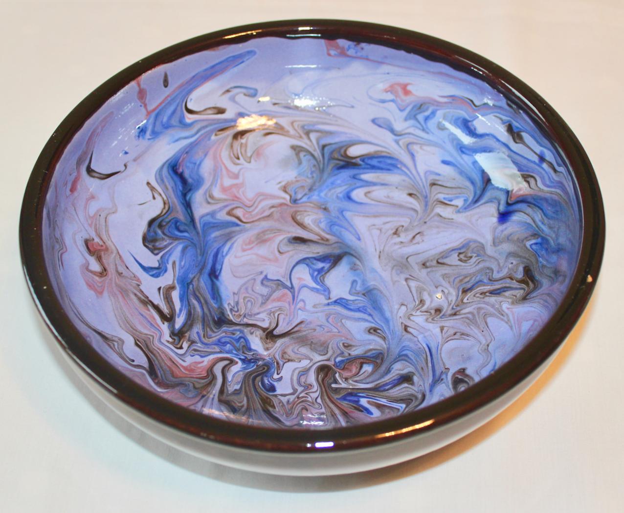 Elana marble-blue