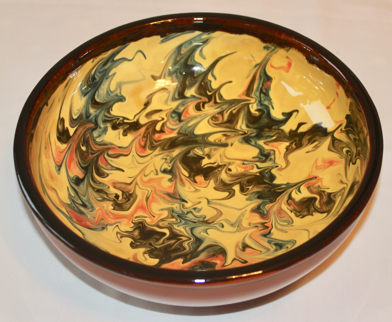 Elana marble-yellow